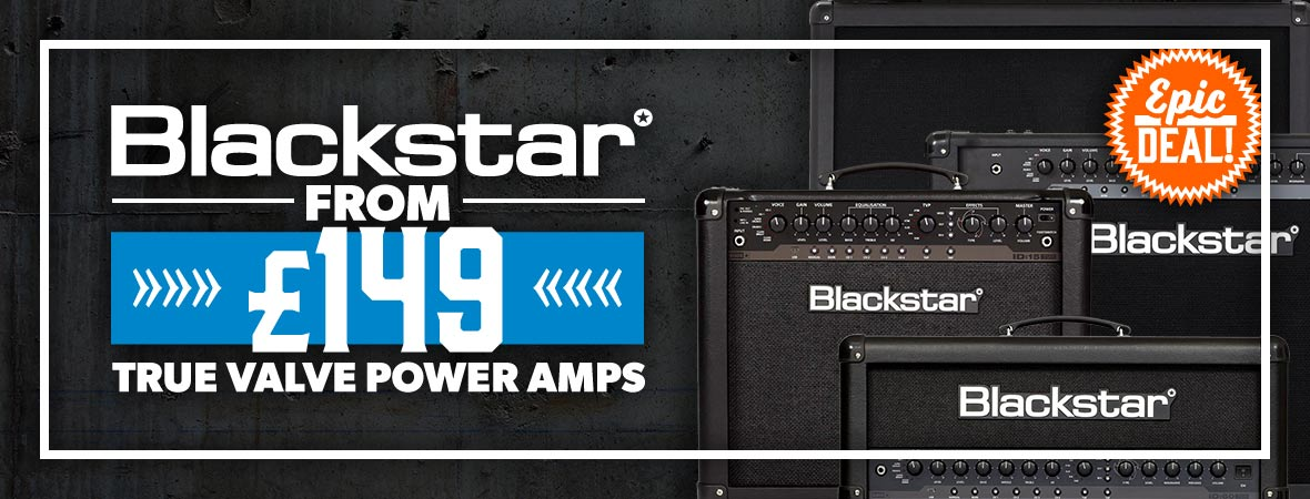 Blackstar True Valve Power Amps Epic Deal at Andertons Music Co.