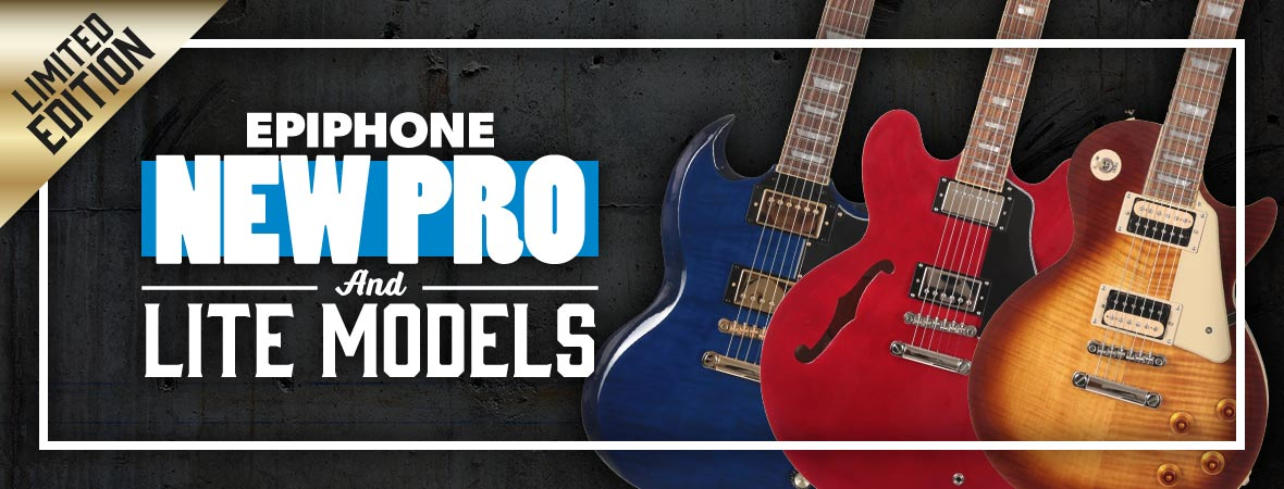 Epiphone Limited Edition Guitars now in stock at Andertons Music Co.