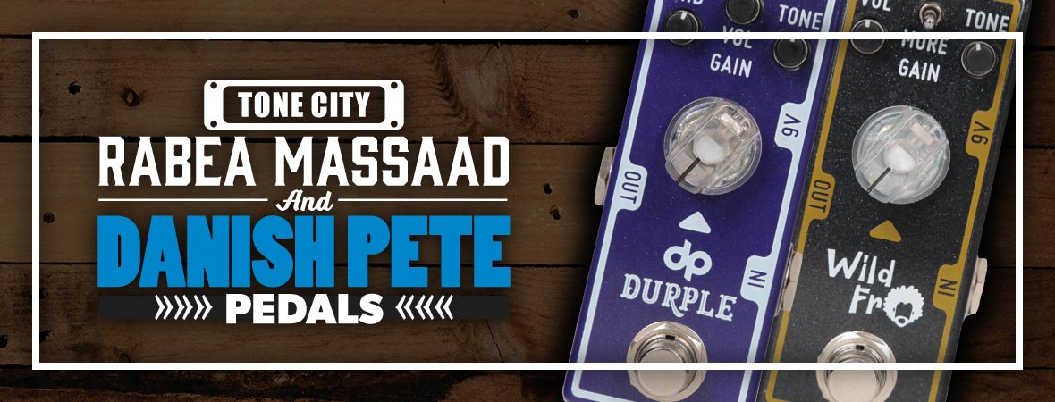 Tone City Durple & Wild Fro Pedals at Andertons Music Co.
