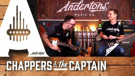 Andertons TV With Chappers and the Captain