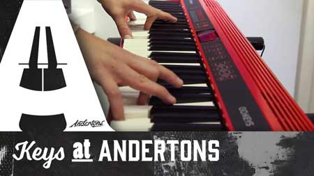 Andertons TV Keyboards, Synths and Pianos Channel