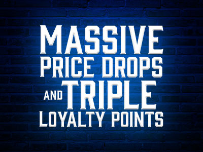 January Sale Triple Loyalty Points - Andertons Music Co.