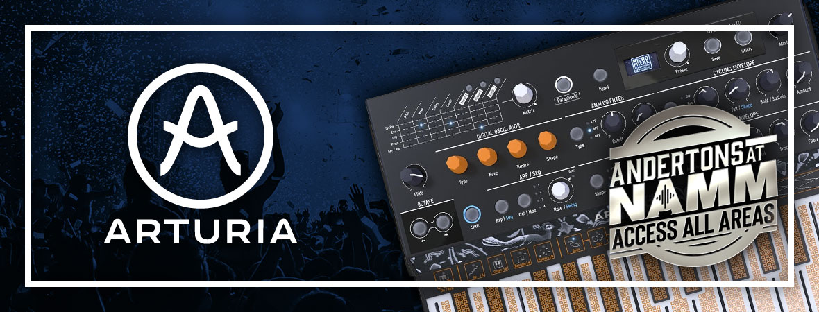 New Arturia Synths at NAMM 2019