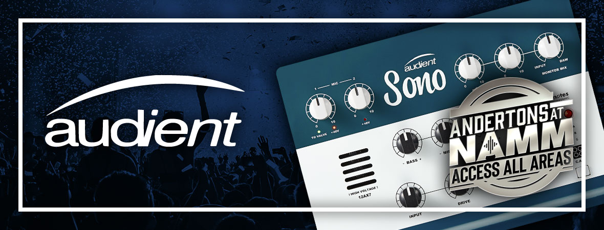 New Audient Releases at NAMM 2019