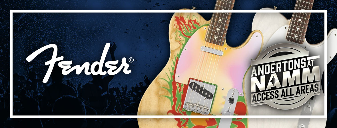 New Fender Jimmy Page Guitars at NAMM 2019