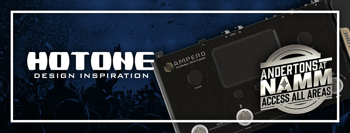 New Hotone Pedals at NAMM 2019