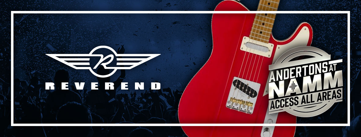 New Reverend Guitars at NAMM 2019