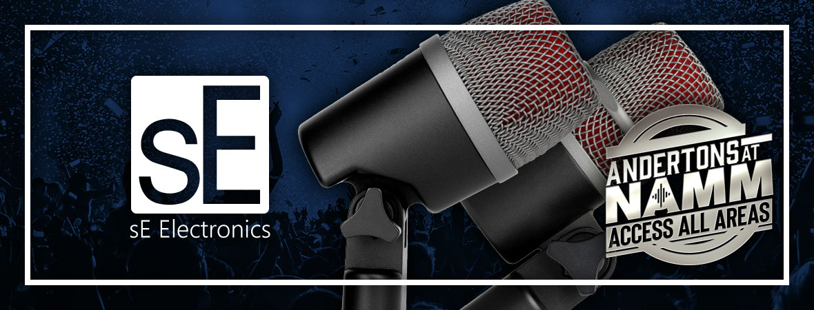 New SE Electronics Microphones at NAMM 2019