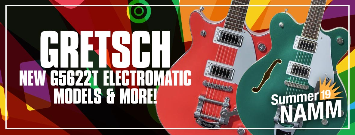 New Gretsch Electromatic Guitars at Summer NAMM 2019
