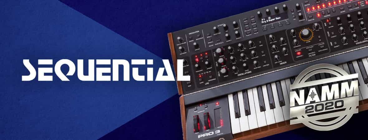 Sequential - NAMM 2020