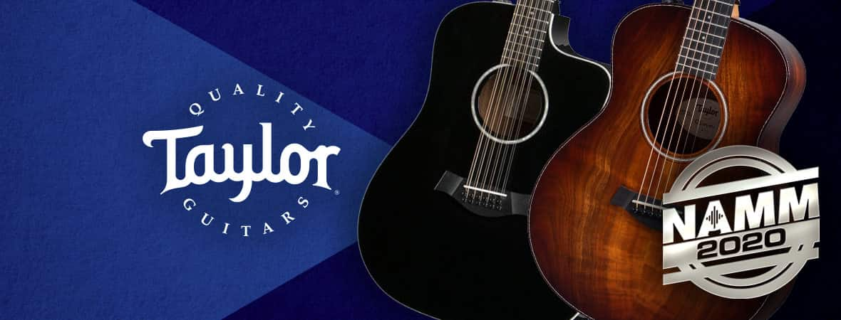 Taylor Guitars - NAMM 2020