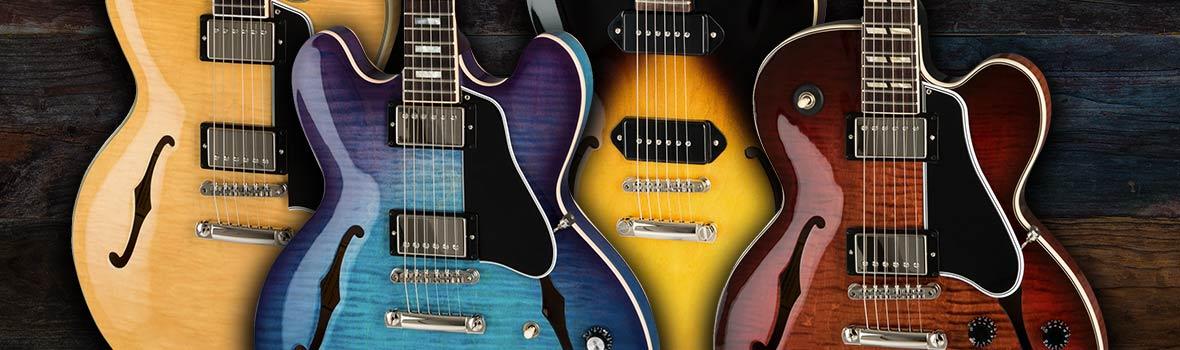 Gibson 2019 Memphis - The Hollowbody & Semi-Hollow Range