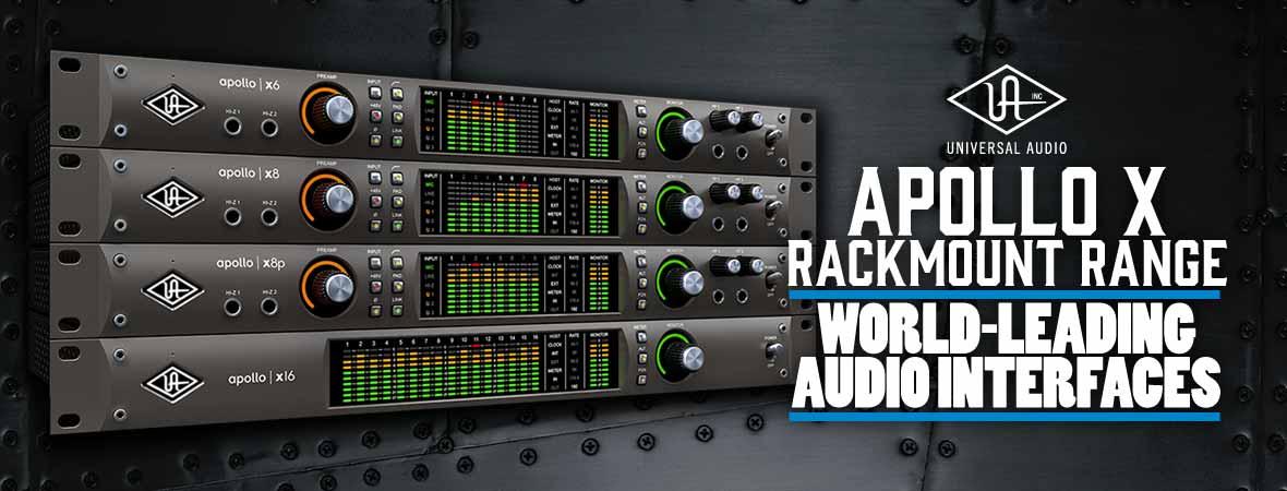 Universal Audio Apollo X Rackmount Audio Interfaces