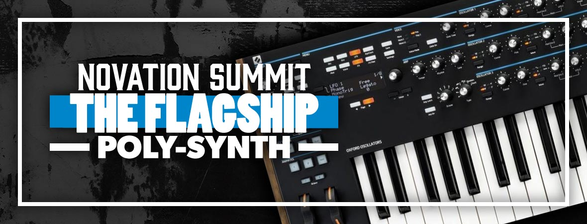 Novation Summit Synth at Andertons Music Co.