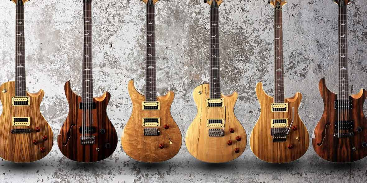 Prs Se Exotic Wood Range At Andertons Andertons Music Co