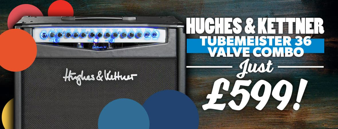 Summer Sale 2018 - Hughes & Kettner TM36 Combo for £599 at Andertons Music Co!