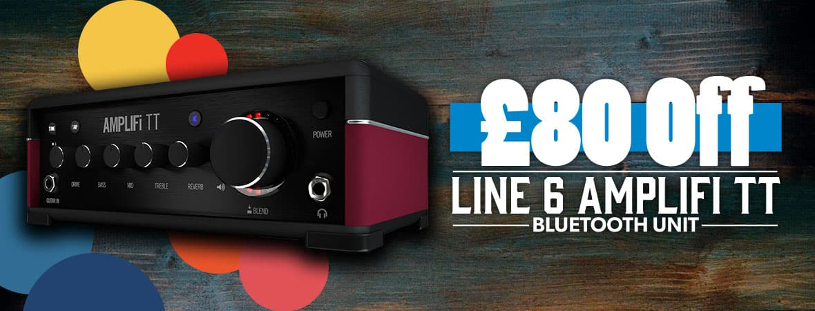 Summer Sale 2018 - £80 off the Line 6 Amplifi TT at Andertons Music Co!