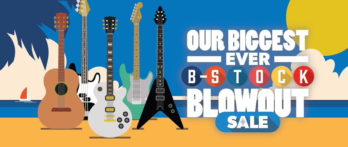 Summer Sale 2018 - Huge Savings on B-stock at Andertons Music Co!
