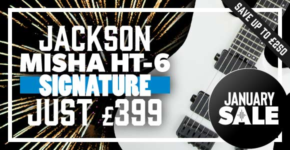 Save on the Jackson Misha Mansoor HT-6!