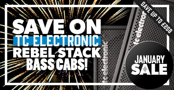 Save on TC Electronic Bass Cabs
