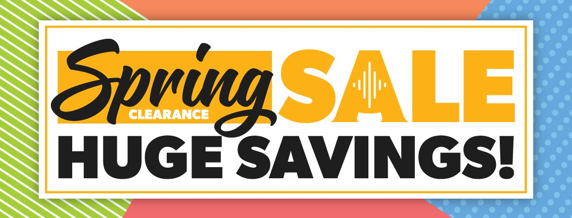 Spring Sale revolving banner with call to action
