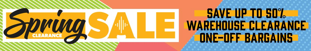 Shop All January Sale Clearance Deals at Andertons Music Co.