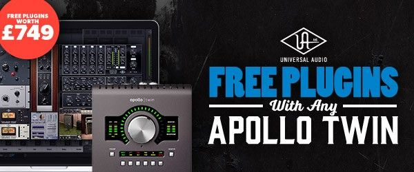 Universal Audio Apollo Twin Free Plugins