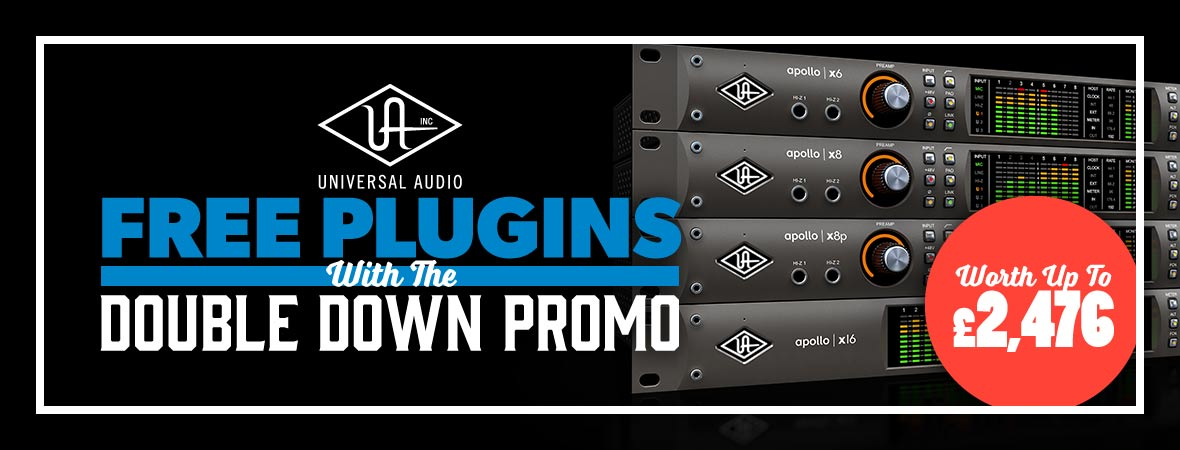 Universal Audio 'Double Down' Promotion at Andertons Music Co.