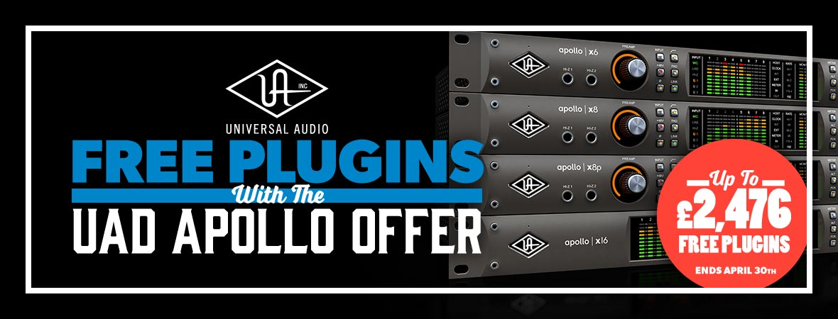Universal Audio Apollo X 'Double Down' Promotion at Andertons Music Co.