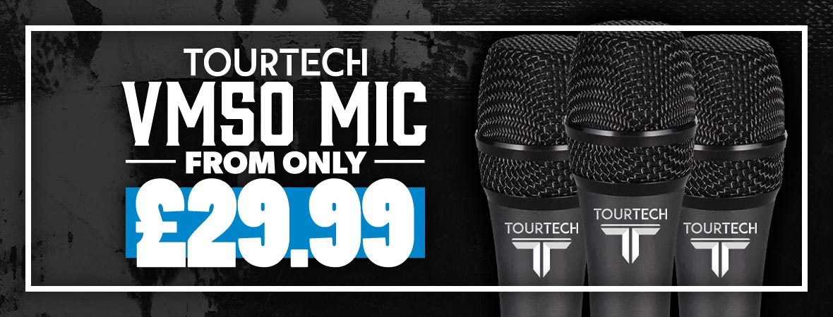 Tourtech VM50 Microphones at Andertons Music Co.